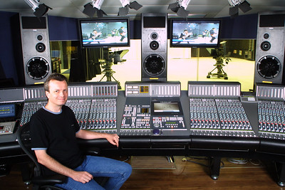 Main control room at The Hospital, London