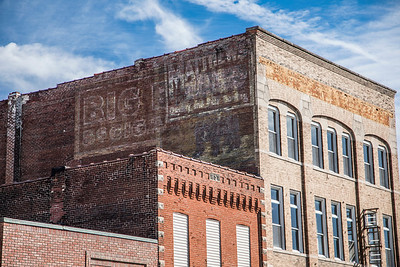 Ghost Sign in Fowler, Indiana