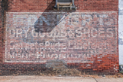 Ghost Sign in Boswell, Indiana