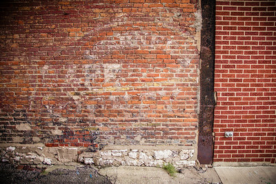 Ghost Sign in Logansport, Indiana