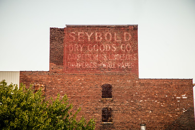 Seybold Dry Goods Company Ghost Sign in Logansport, Indiana