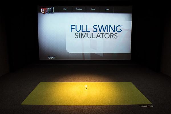 Highlander Golf Simulator Room 5.6.2018