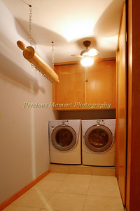 Large Laundry Room with storage closets