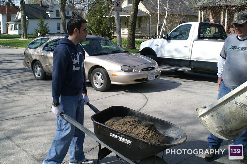 Ames Jaycees Sandbox Fill - 2008