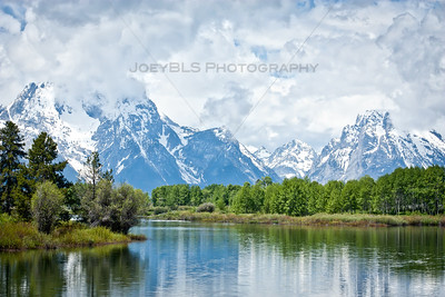 Grand Tetons National Park near Jackson, Wyoming