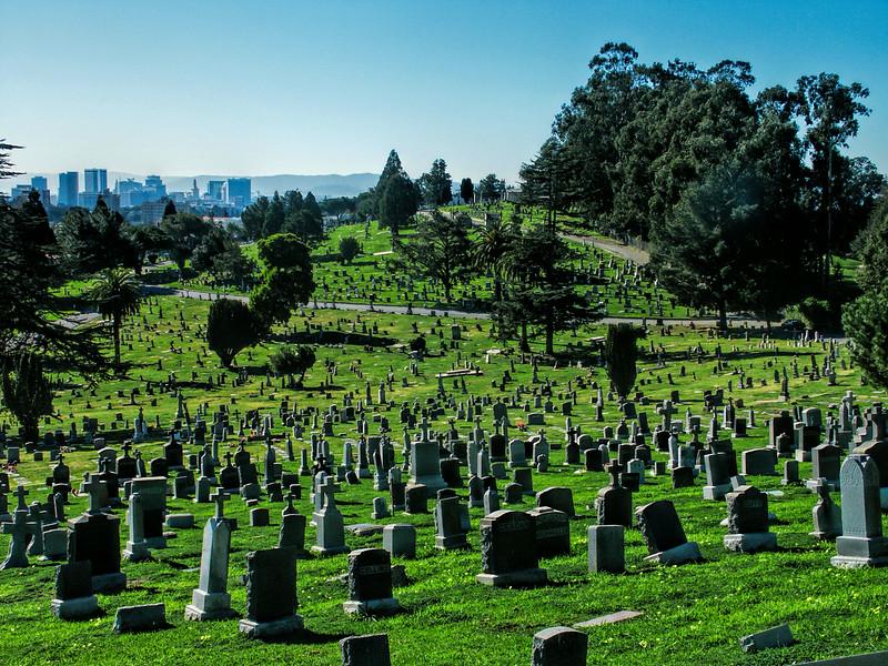 Saint Mary's Cemetery, Oakland, CA