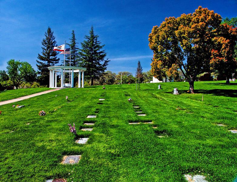 East Lawn's Sierra Hills Park Veterans Memorial