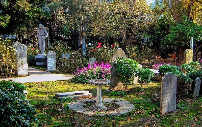 Mission Dolores Cemetery, San Francisco, CA