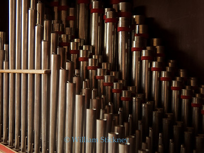 Organ pipes, Denmark.