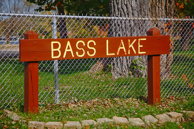 Bass Lake, Indiana Sign