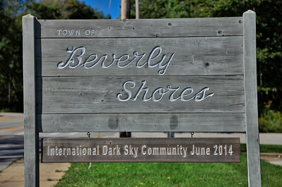 Town of Beverly Shores Sign