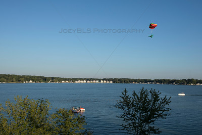 Cedar Lake Indiana Boating and Powered Parachute