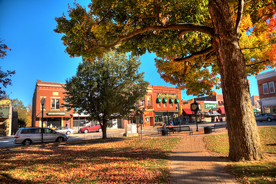 Fall in Downtown Chesterton, Indiana