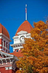 Fall in Downtown Crown Point, Indiana
