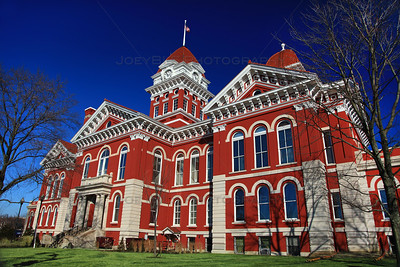 Old Lake County Courthouse on the Crown Point Square
