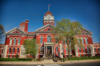Old Lake County Court House in Crown Point