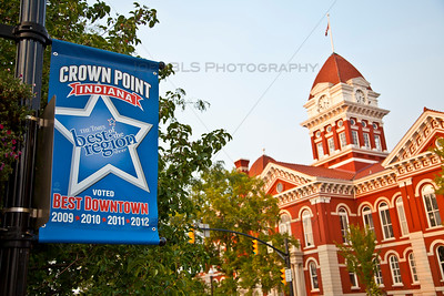 Downtown Crown Point, Indiana Square voted Best Downtown