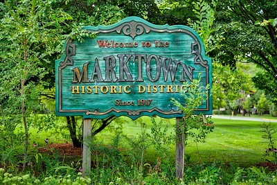 Marktown in East Chicago, Indiana