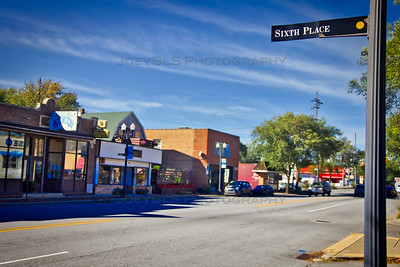 Sixth Place and Lake Street in Miller Beach, Indiana