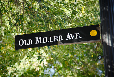Old Miller Avenue in Gary, Indiana