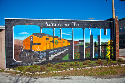 Welcome to Griffith, Indiana Mural