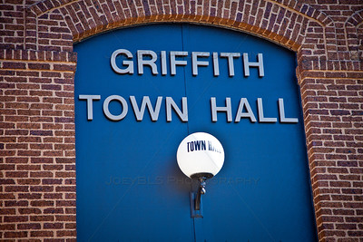 Griffith Town Hall in Downtown Griffith, Indiana