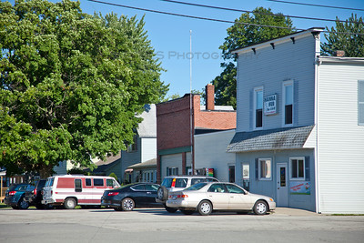 Downtown Hanna, Indiana