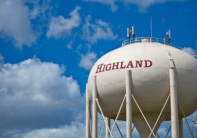 Highland, Indiana Water Tower