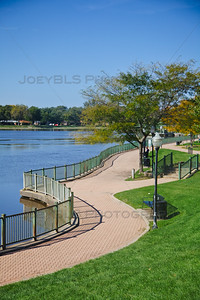 Lake George Walking and Bike Path in Hobart, Indiana
