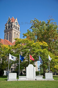 Starke County Court House Tower Memorial Vertical