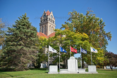 Starke County Court House Tower Memorial