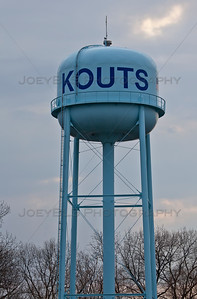 Kouts, Indiana Blue Water Tower
