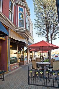 Restaurants in downtown La Porte, Indiana