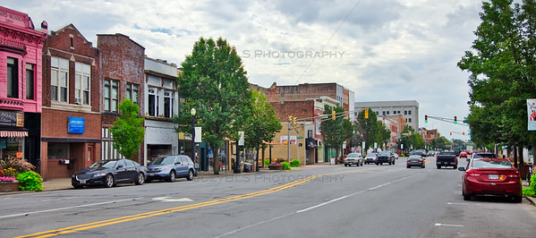 Downtown La Porte, Indiana Historic Architecture on Lincolnway