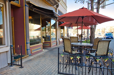 Food, Outdoor Dining and Restaurants in Downtown La Porte, Indiana