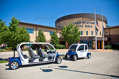 Lake Station, Indiana City Hall Electronic Vehicles