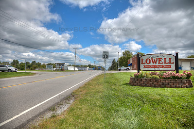Welcome to Lowell, Indiana Sign