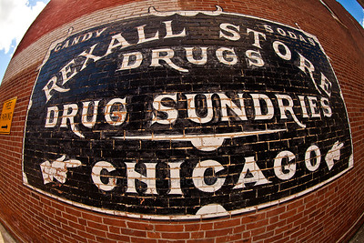 Lowell, Indiana Old Advertisement - Rexall Store, Drugs, Drug Sundries in Chicago