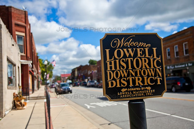 Lowell, Indiana Historic Downtown District
