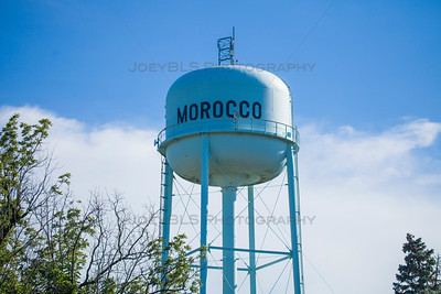 Morocco, Indiana Water Tower