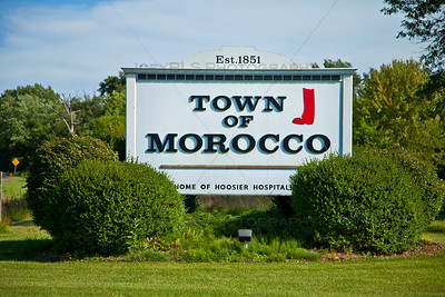 Welcome to Morocco, Indiana