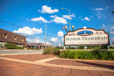 Munster, Indiana Monon Trailhead Plaza