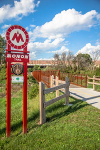 Munster, Indiana Monon Trail Sign