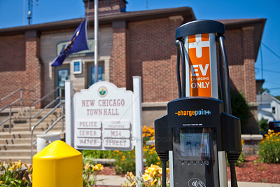 New Chicago, Indiana EV Charging Station