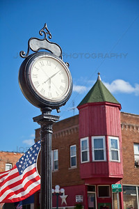Downtown North Judson, Indiana Clock