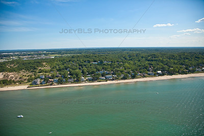 Aerial photo of Ogden Dunes, Indiana