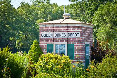 Portage, Indiana - Ogden Dunes Train Station