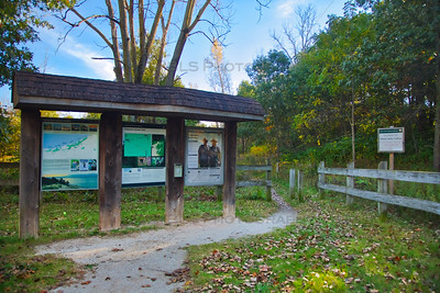 Cowles Bog Trailhead in Portage, Indiana