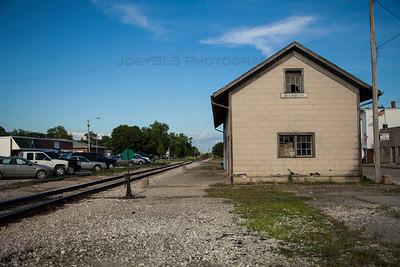 Downtown Remington, Indiana Train Station