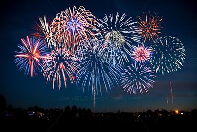 Schererville, Indiana Fireworks at Rohrman Park